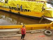 River Transportation of Rig & Conveyor Parts