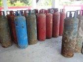 LPG, oxygen and acytelene