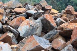 Split, aggregate, macadam & boulder